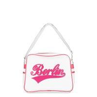 Bild stylische Berlin Tasche, weiss Pink