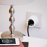 Bild WLAN-Steckdose mit App & Alexa kompatibel