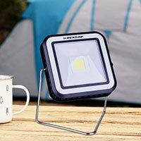 Bild Solar-LED Campinglampe von 'Dunlop'