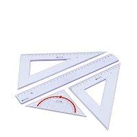 Bild Rheita Zeichen- und Geometrie-Set, 4-teilig