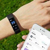 Bild Bluetooth Fitness-Armbanduhr inkl. App