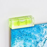 Bild Mini-Wasserwaage aus Acrylglas