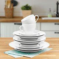 Bild Porzellan Geschirrset Markenware, 30 Teile