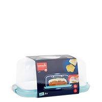 Bild Kastenkuchenbehälter mit Servierplatte
