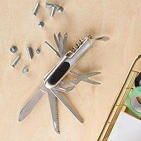 Bild Edelstahl Taschenmesser, 10 Funktionen