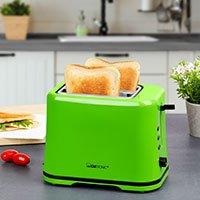 Bild Toaster mit Brötchenaufsatz